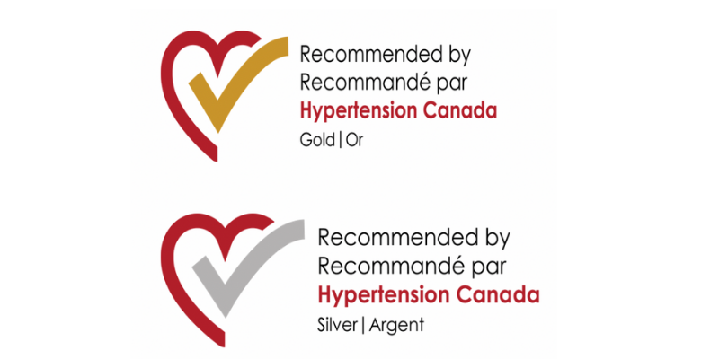 Gold and Silver Recommended by Hypertension Canada
