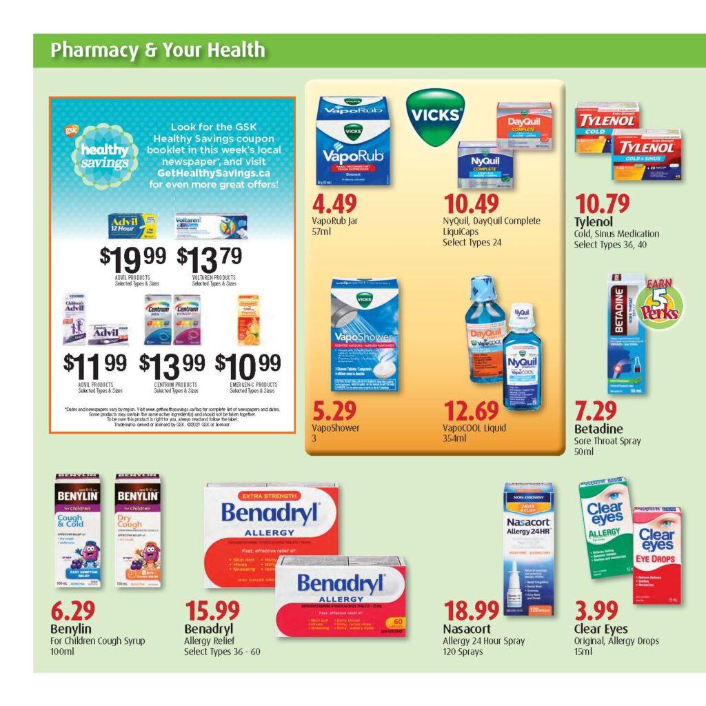 St. Thomas PharmaChoice Flyer Sept 23 - 29 2021